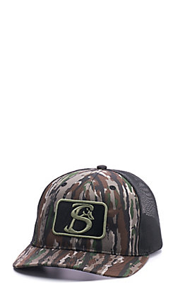 Stackin Bills Realtree Camo Logo Patch Cap