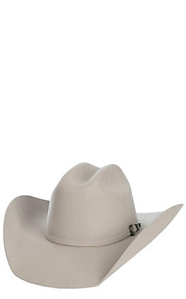 Cavender's Cowboy Collection 3X Silverbelly Cattleman's Crown Premium Wool Cowboy Hat