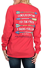 Southern Couture Women's Paprika Lord Point Me L/S T-Shirt
