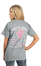 Couture Tee Women's Grey Hard to Handle T-Shirt