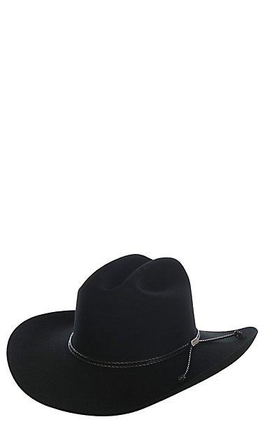 Stetson 6X Carson Black Felt Cowboy Hat  9195e467c6f