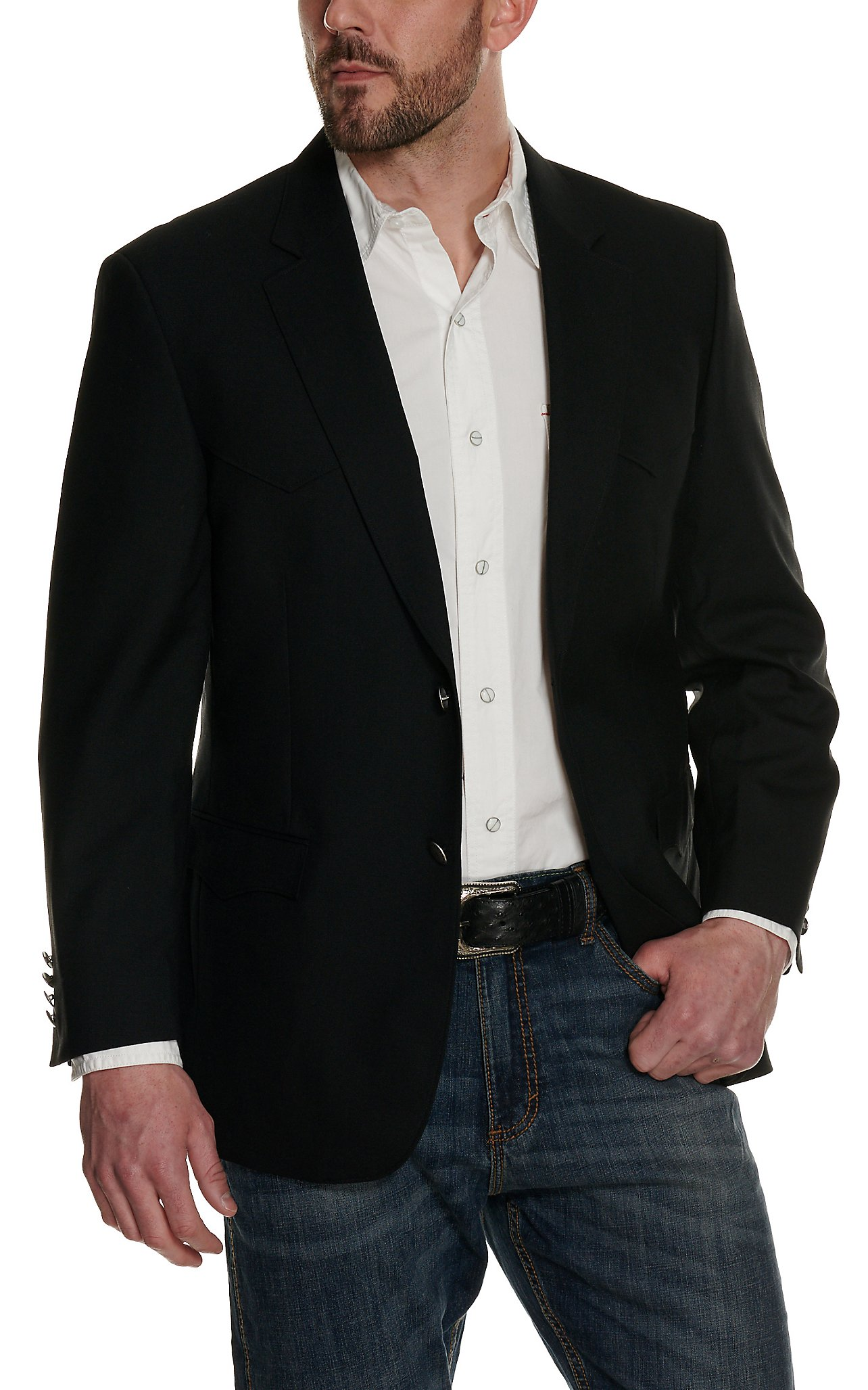 Mens Western Sport Coats Blazers Han Coats