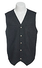 Red Sky Men's Grey Wool Vest