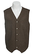 Red Sky Men's Tan Wool Vest