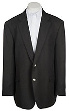 Red Sky Men's Charcoal Fine-Line Bone Sport Coat