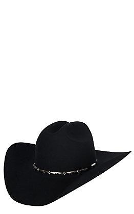 a23e4586a72d0 Stetson 6X Del Norte Black Felt Cowboy Hat