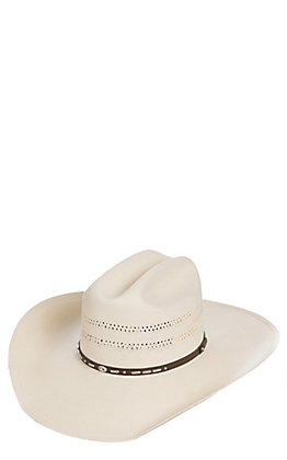 Stetson 10X Gaines Vent Straw Cowboy Hat