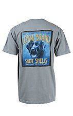 Live Oak Brand Vintage Shells Series Granite Loyal Dog Short Sleeve Tee