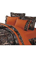 HiEnd Accents Oak Camo Sheet Set - Queen