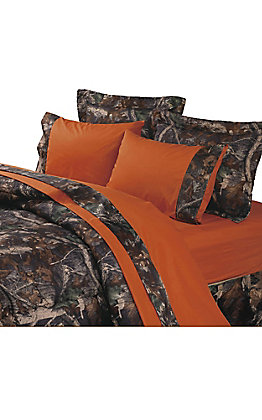 HiEnd Accents Oak Camo Sheet Set - Twin