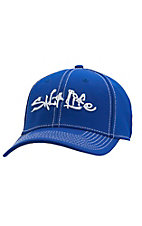 Salt Life Royal Blue Tech Signature Flex Fit Cap  SLM210ROYAL