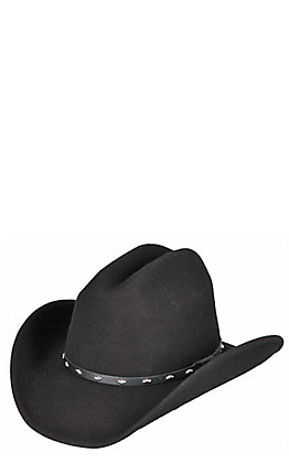Rodeo King Silverado Crushable Black Felt Cowboy Hat