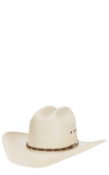 Stetson 10X Lawman Natural Straw Cowboy Hat  e0a37ea694a
