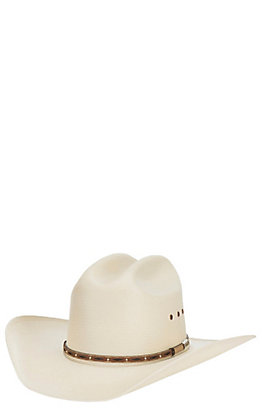 Stetson 10X Lawman Natural Straw Cowboy Hat