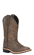 Smoky Mountain Youth Vintage Chocolate Wide Square Toe Western Boots