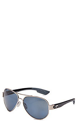 Costa South Point Gray Palladium Sunglasses