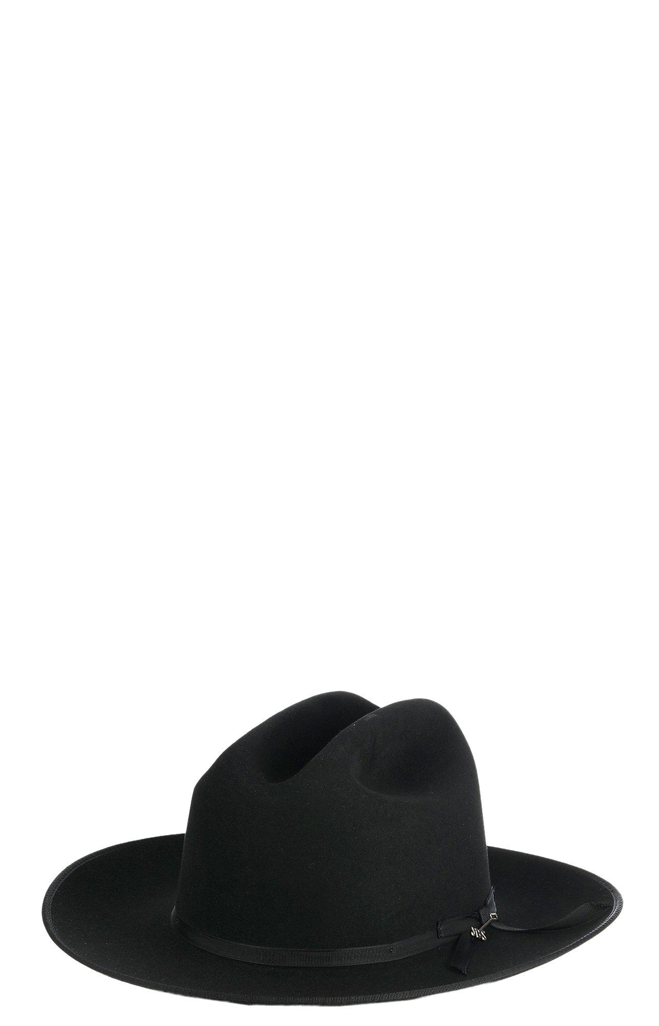 Stetson 6X Openroad Black Felt Cowboy Hat  b2dfca77b95