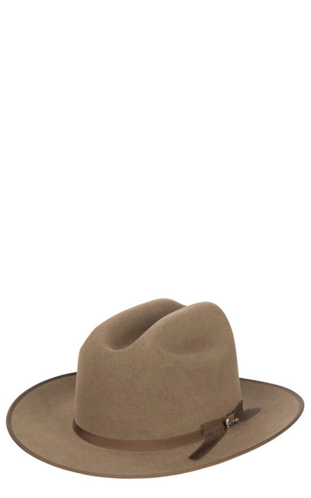 Stetson 6X Open Road Brown Mix Felt Cowboy Hat  a431183fd51