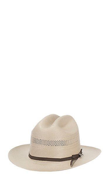 Stetson 10X Open Road Toasted Straw Cowboy Hat  beb52db6509
