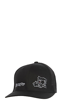 Sniper Pig Black Night Hunter Mesh FlexFit Cap