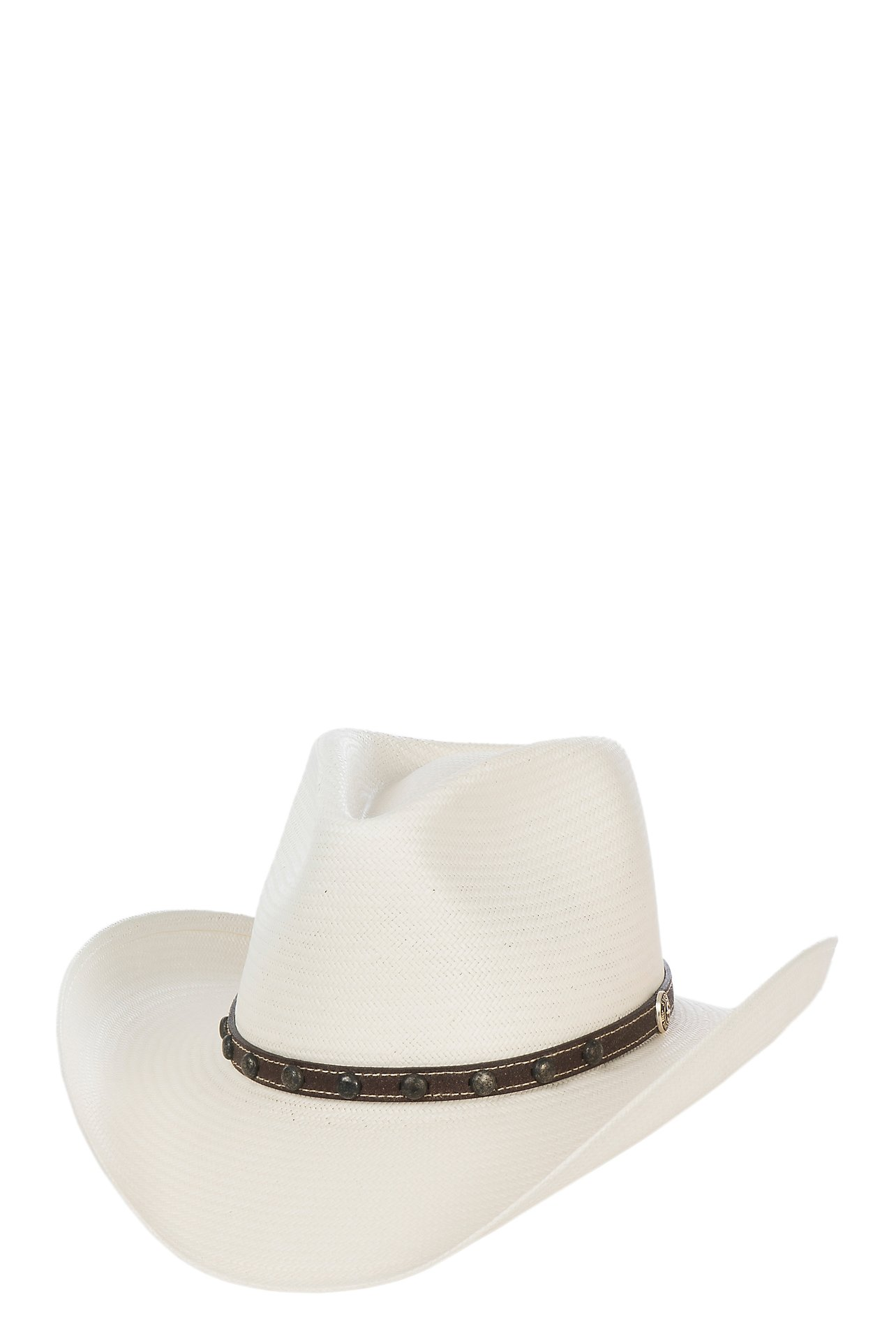 5fca5399aa5 Stetson 8X Cyprus Pinch Front Natural Straw Cowboy Hat