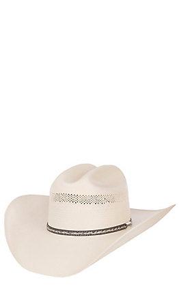 Stetson Grey Star Natural 10X Straw Cowboy Hat