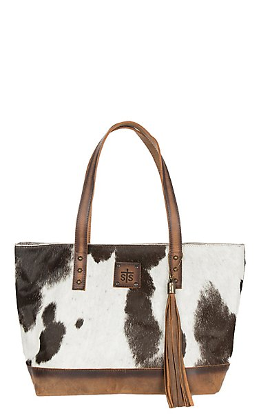ad753ce277d6 STS Ranchwear Classic Cowhide Tote