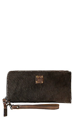 STS Ranchwear Classic Cowhide Clutch Wallet