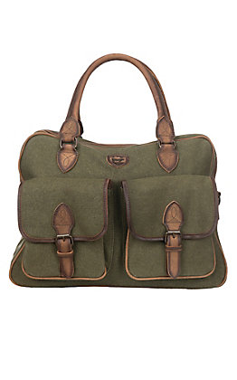 STS Men's Foreman Military Green Weekender Bag