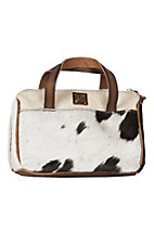 STS Ranch Classic Cowhide Makeup Bag