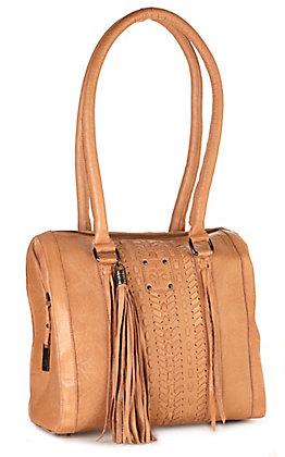 STS Ranchwear Marlowe Tan Leather Satchel Handbag