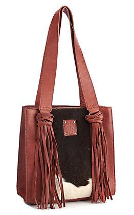 STS Ranchwear Delilah Cowhide Shopper Bag