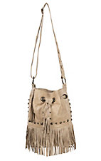 STS Ranchwear The Free Spirit Buckskin with Fringe Bucket Bag
