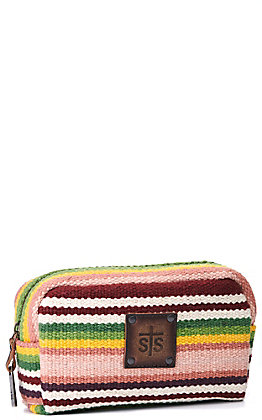STS Ranchwear Buffalo Girl Serape Cosmetic Bag
