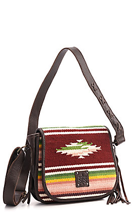 STS Ranchwear Buffalo Girl Selah Serape Saddle Bag