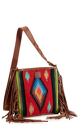STS Ranchwear Fiesta Ponderosa Red Serape Concealed Carry Crossbody Bag