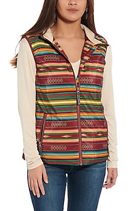 STS Women's Multi Serape Vest