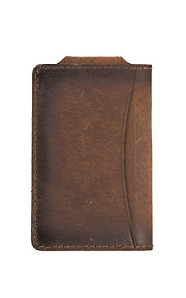 STS Ranchwear Foreman Collection Leather Money Clip Wallet