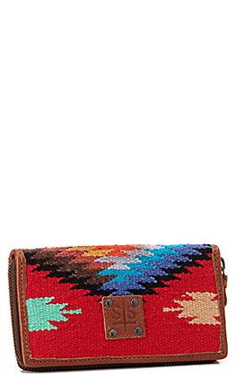 STS Ranchwear Women's Serape Collection Fiesta Bifold Wallet