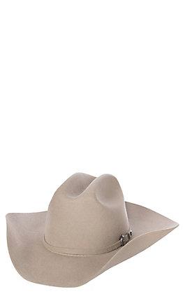 Cavender's Cowboy Collection 3X Stone Cattleman's Crown Premium Wool Hat
