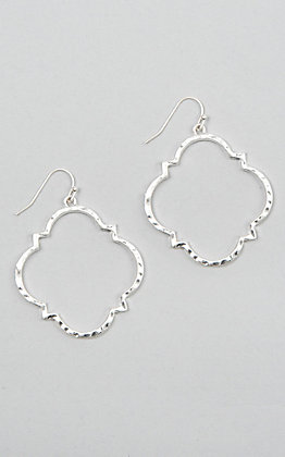 Amber's Allie Silver Earrings