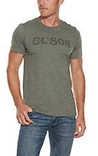 Rodeo Time Dale Brisby Men's Army Green Ol' Son Short Sleeve T-Shirt