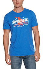Rodeo Time Dale Brisby Blue Winnebago Rodeo Co T-Shirt