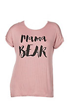 Lovely Souls Women's Mama Bear Knit Shirt