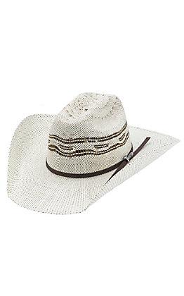 Twister Two Tone Bangora Straw Children's Cowboy Hat