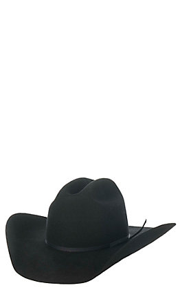 Twister Youth Black Wool Cowboy Hat
