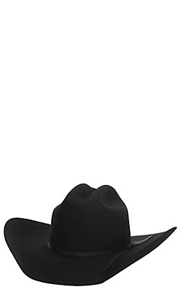 Twister Junior Black Wool Cowboy Hat