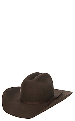 Twister Junior Chocolate Wool Cowboy Hat