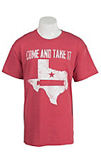 Southern Moonshine Men's Heather Red Come & Take It T-Shirt