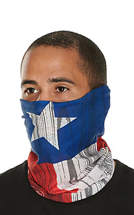 John Boy Texas Flag Face Guard